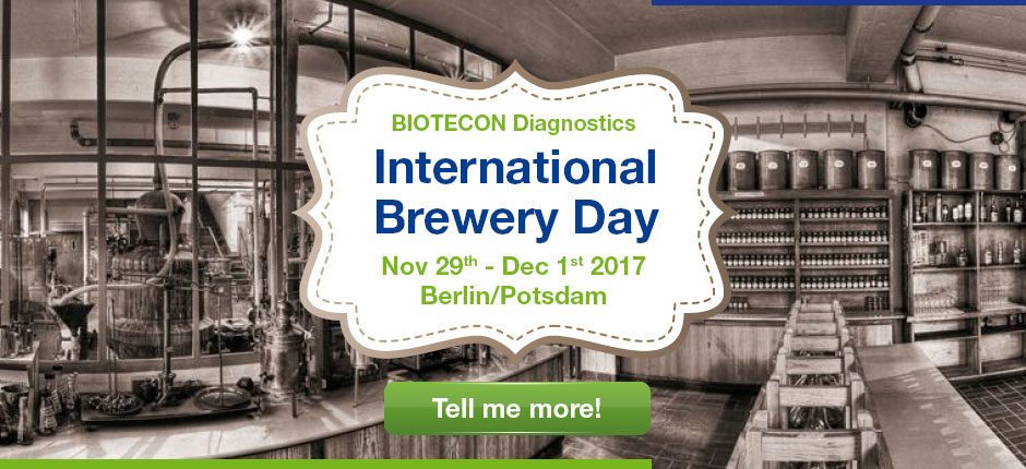 "BIOTECON Diagnostics invites you to our ""International Brewery Day 2017"" event"