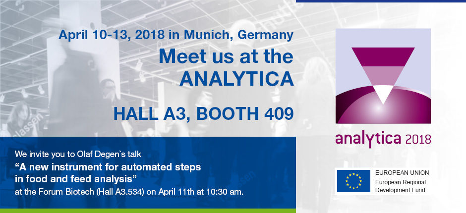Meet us at the analytica