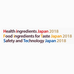 Food ingredients for Taste Japan 2018