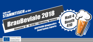 Meet us at the BrauBeviale 2018