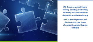 EW Group acquires Hygiena forming a leading food safety, veterinary and environmental diagnostic solutions company